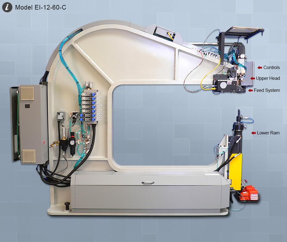 Rivet Machine Anvils : Electroimpact semi automatic riveters