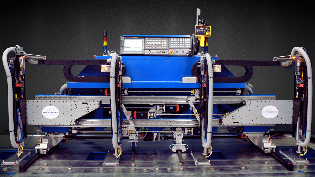 Electroimpact 767 Automated Floor Drilling Equipment
