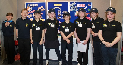 Ysgol Llanddulas F1 in the Schools team